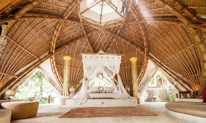 Bio Arc's bamboo bio dome
