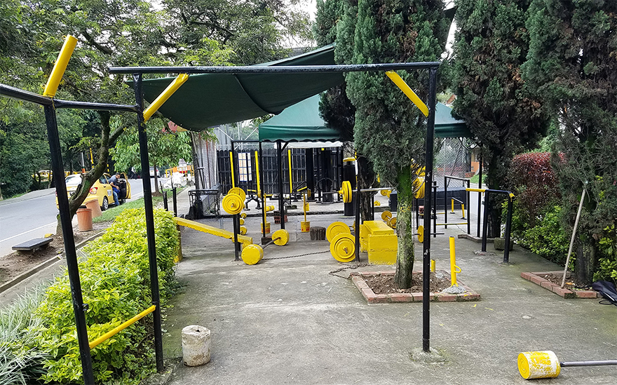 Envigado open air gym